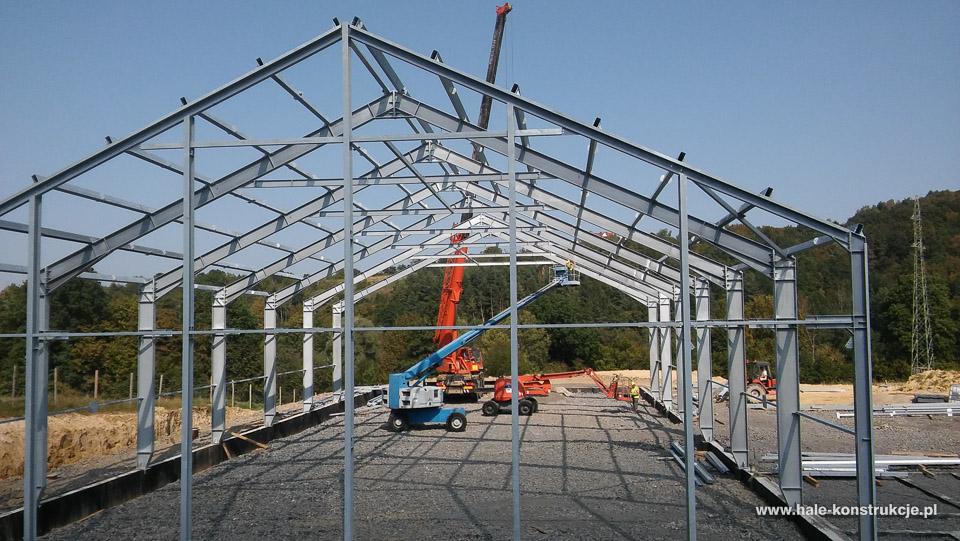 Niesamowite Budowa modernizacja przebudowa hal stalowych magazynów zakładów GB89