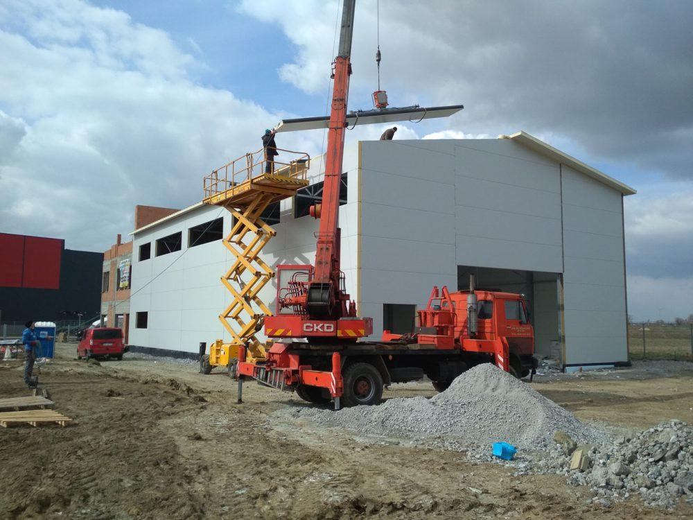 Produkcja - budowa hal pod różne potrzeby inwestycyjne